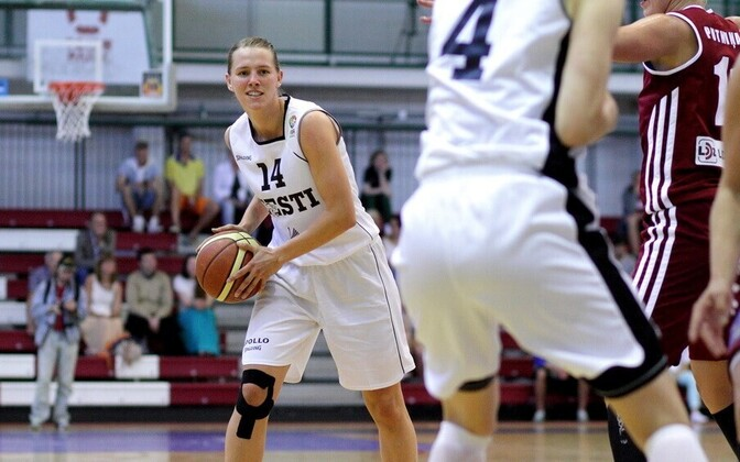 Viive-Kai Rebane ja Eesti naiste korvpallikoondis
