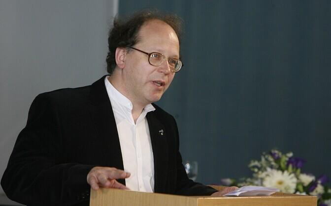 Kirjandusteadlane Jaan Undusk.