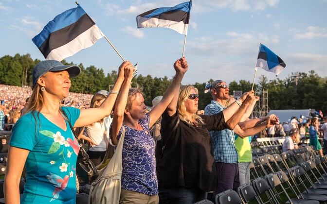 Estonians are famous for uniting at Song Celebration, but tens of thousands have emigrated in last ten years