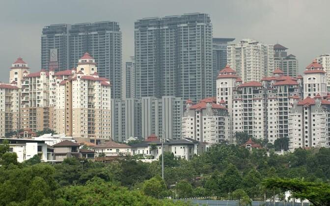 Malaisia pealinn Kuala Lumpur.