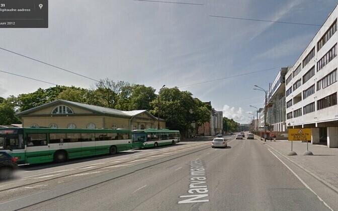 Narva maantee Tallinna kesklinnas