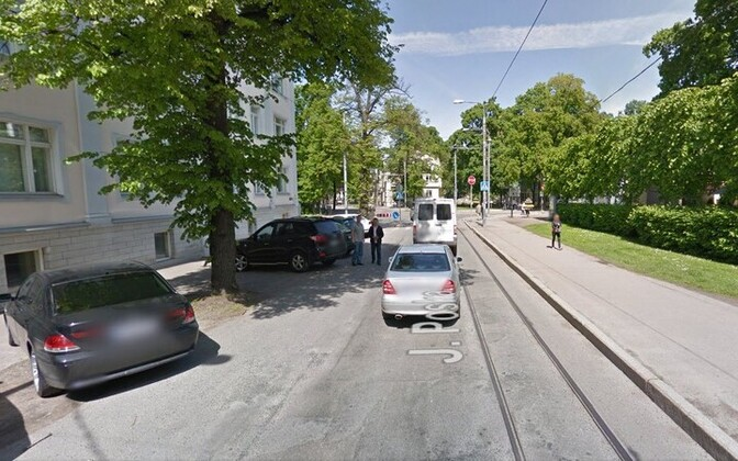 По планам городских властей, на улице Поска появится велодорожка.