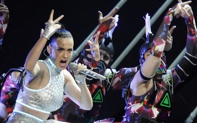Katy Perry on maailmaturneel