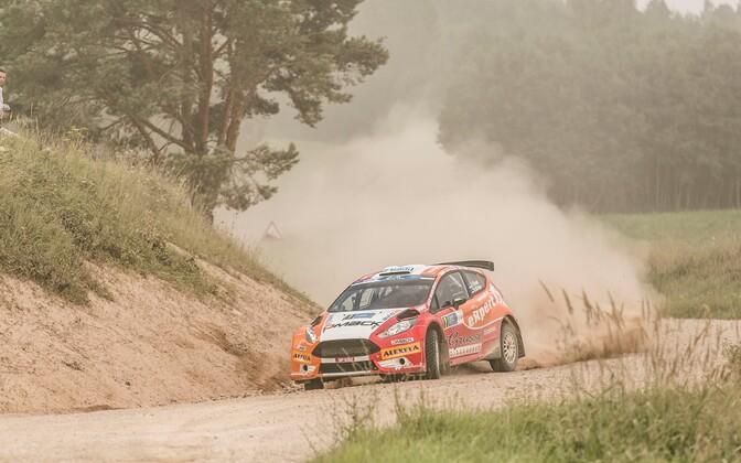 Ott Tänak Rally Estonial.
