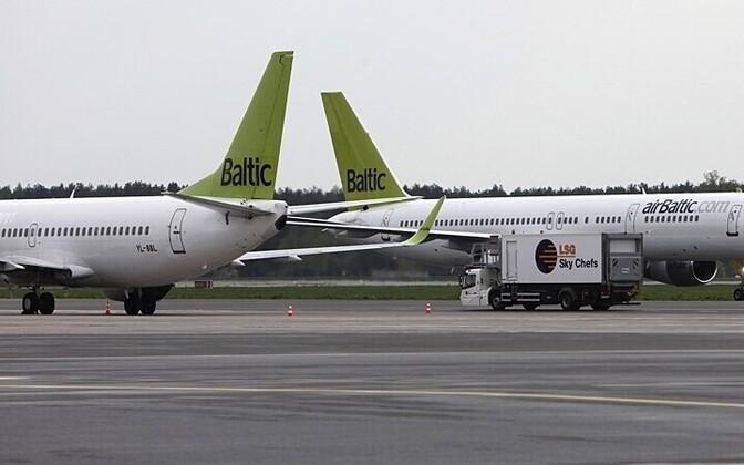 Air Balticu lennukid.