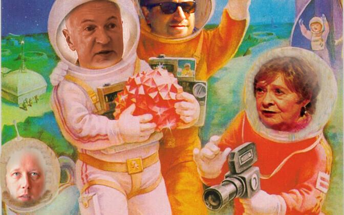 Kosmonautika Kirjandusõhtu plakat