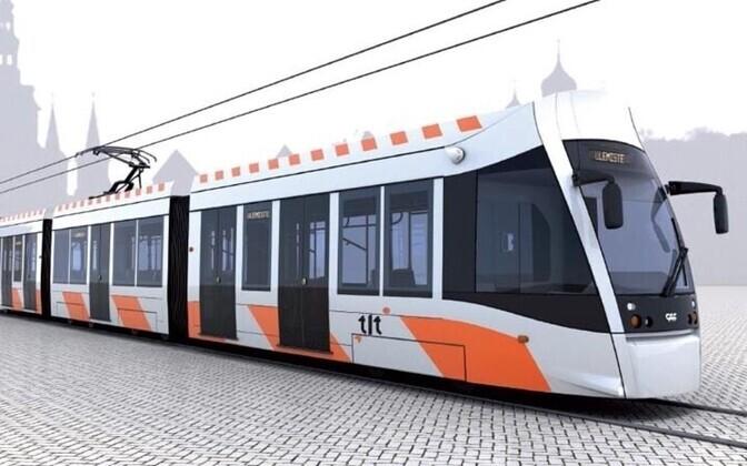Uued trammid ehitab Hispaania firma CAF.