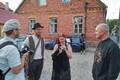 Muusikud Lauri Õunapuu, Krista Citra Joonas ja helilooja Sven Grünberg