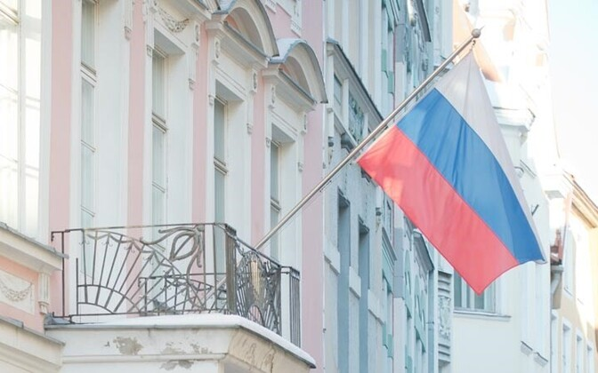 Venemaa Föderatsiooni suursaatkond Tallinnas Pikal tänaval