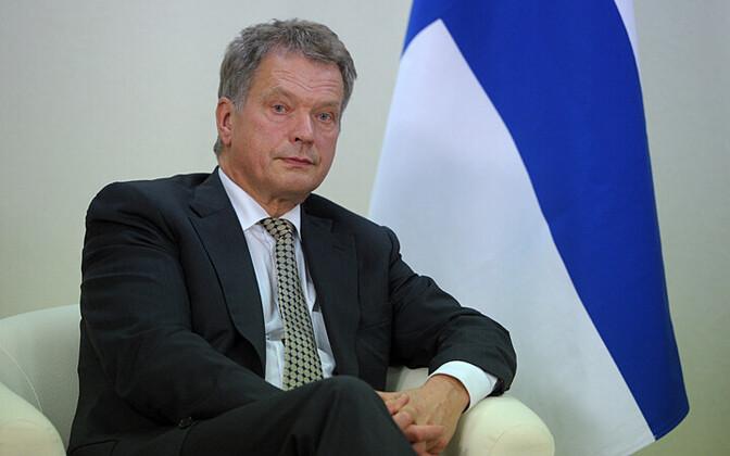 Soome president Sauli Niinistö