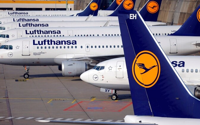 Lufthansa lennukid.