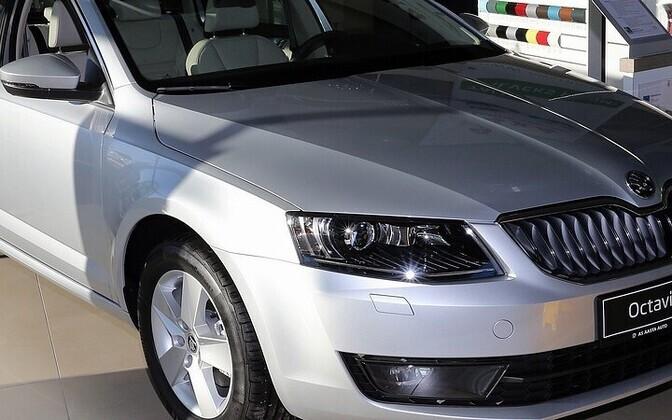 Škoda Octavia on seni tänavuse aasta populaarseim mudel.