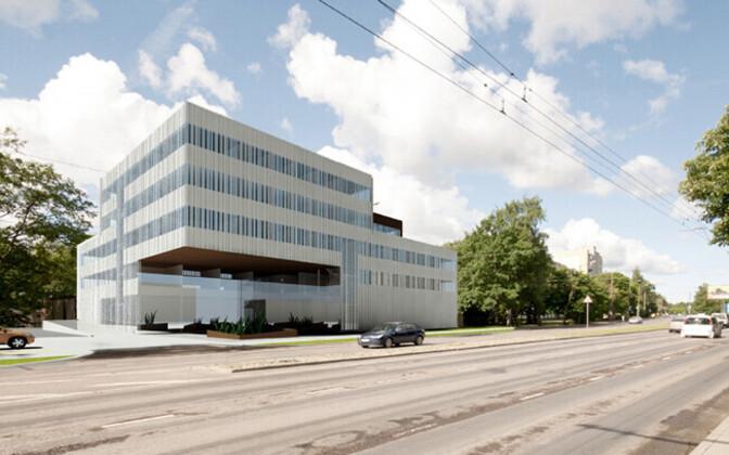 The Health Board (Terviseamet) headquarters in Mustamäe, Tallinn.