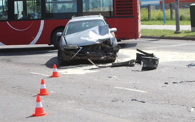 Liiklusõnnetus.