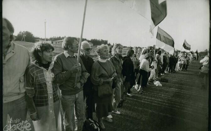 Balti kett 1989. aastal.