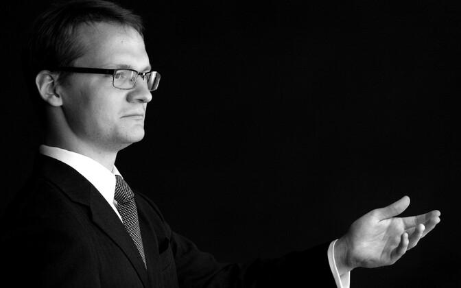 Dirigent Kaspar Mänd