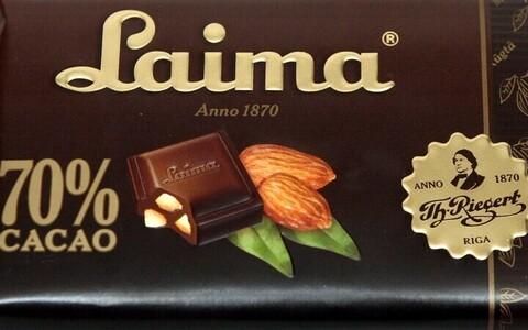 Шоколад Laima.