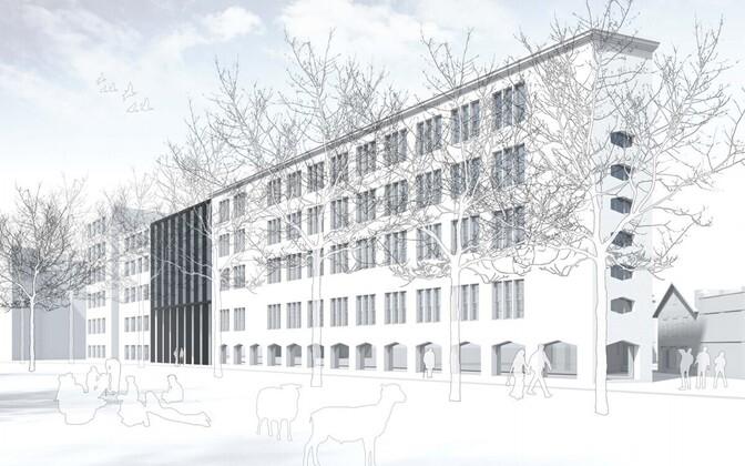 EKA uus maja, projekt