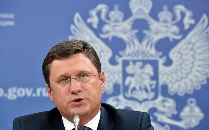 Russian Minister of EnergyAlexander Novak.