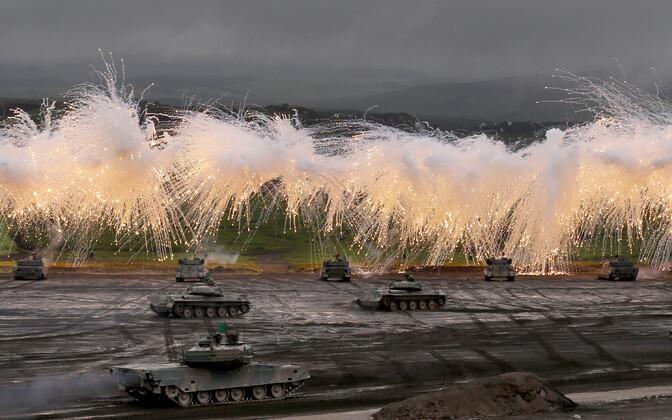 Sõjaväeõppused Jaapanis