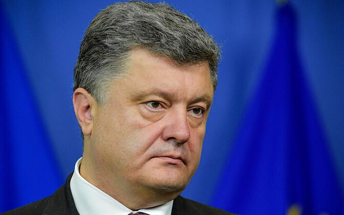 Ukraina president Petro Porošenko.