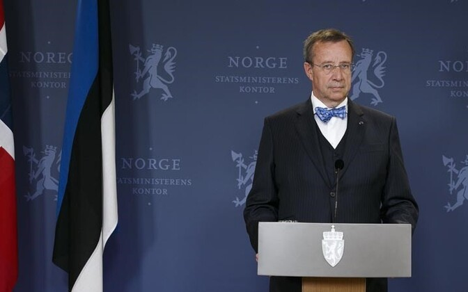 President Toomas Hendrik Ilves Oslos