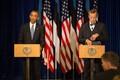 Presidendid Obama ja Ilves ühisel pressikonverentsil