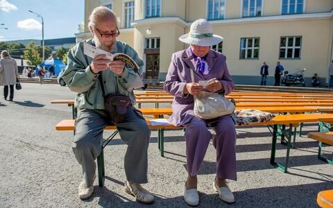 Pensioners. Photo is illustrative.