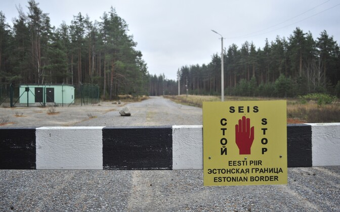 The Estonian-Russian border. Photo is illustrative.