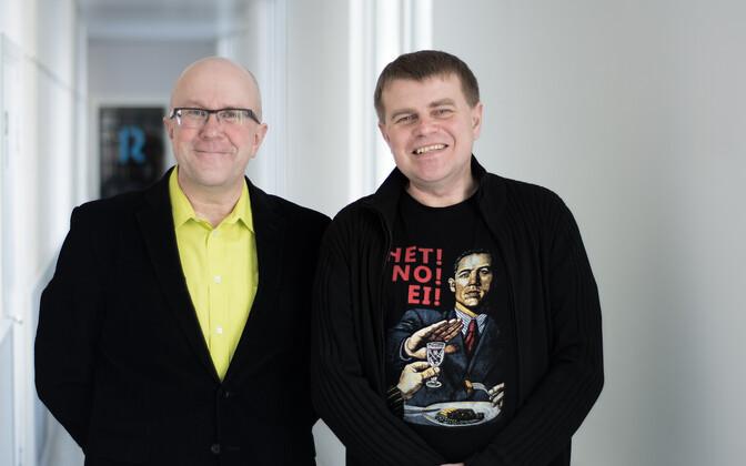 Saatejuhid Mart Juur ja Andrus Kivirähk