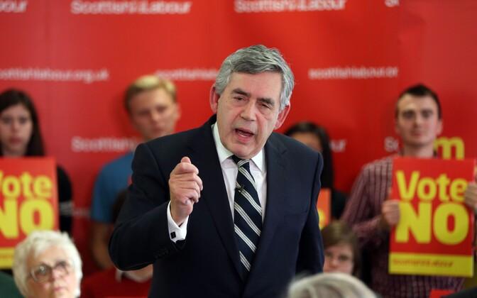 Suurbritannia endine peaminister Gordon Brown.