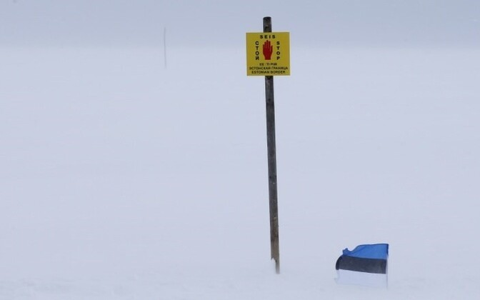 EU border - on the ice