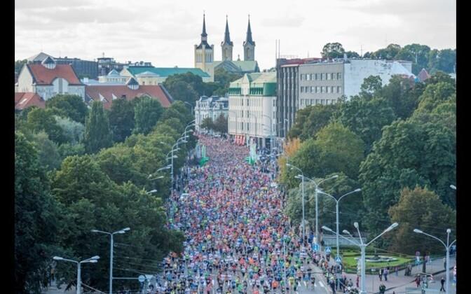 10 km run, SEB Tallinn Marathon 2014