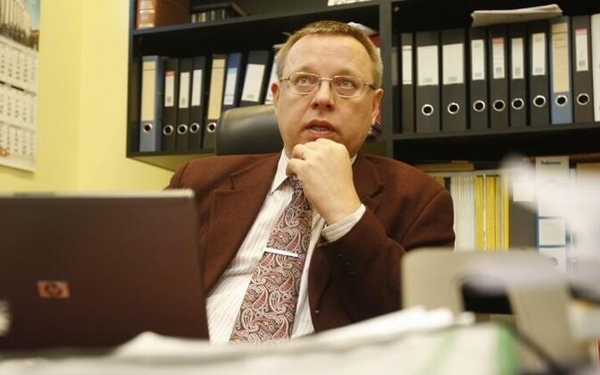 Eelarvenõukogu esimees Raul Eamets