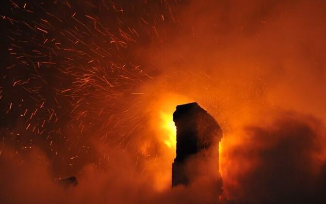 Tulekahju. Foto ei kujuta konkreetset sündmust.