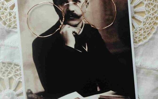 Eduard Vilde muuseumi meene - näpitsprillid