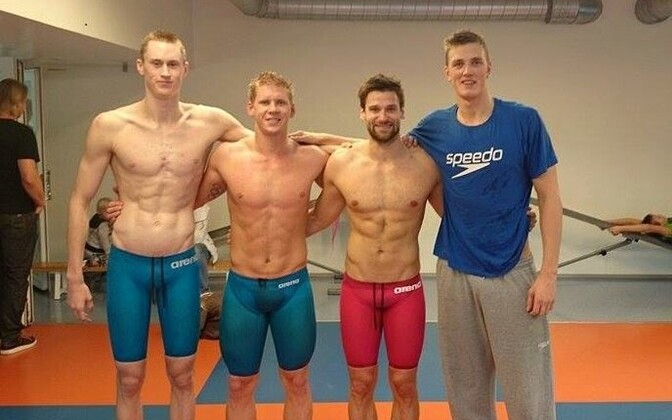 Henri Reinsalu, Martin Liivamägi, Martti Aljand ja Pjotr Degtjarjov