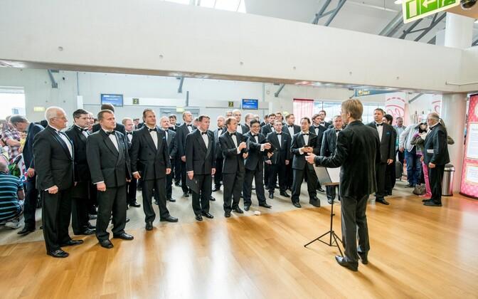 Muusikapäev Tallinna lennujaamas