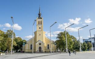 Яанова церковь в Таллинне.