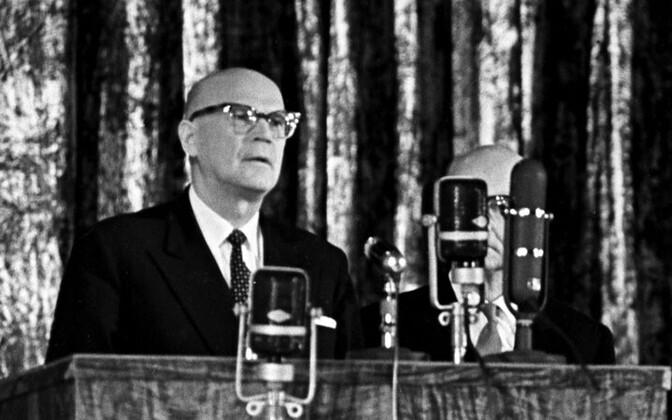 Urho Kaleva Kekkonen 1960. aastal Moskvas