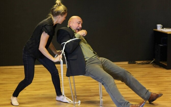 Karin Rask ja Eero Spriit Polygon Teatri