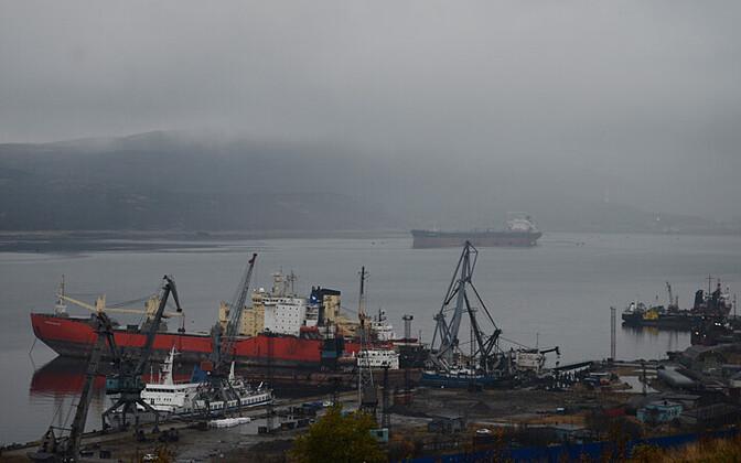 Murmanski sadam, kus ujuv tuumajaam vahepeatuse peaks tegema.