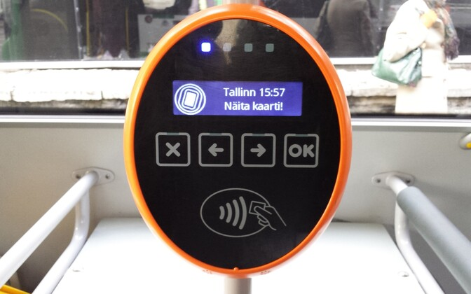 A Tallinn bus validator, coming to Tartu buses as well?