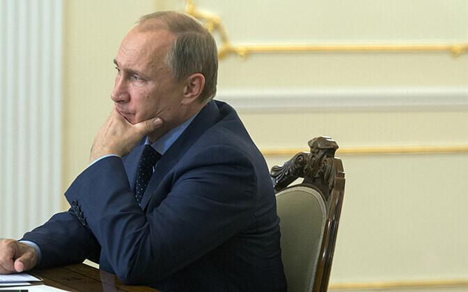 Venemaa president Vladimir Putin