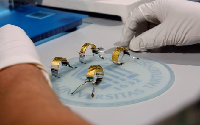 Tartu ülikoolis loodud lihasrobotid, mis on kiiremad kui teod.