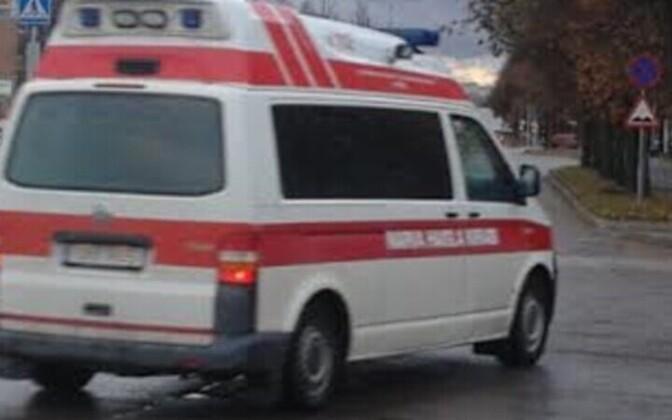 Пострадавший был доставлен в Нарвскую больницу