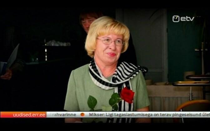 Viljandi Paalalinna teacher Ene Sarap.