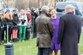 Crown Princess Victoria visiting the Estonia ferry memorial