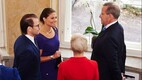 Crown Princess Victoria and Prince Daniel meet with President Toomas Hendrik Ilves and Mrs Evelin Ilves