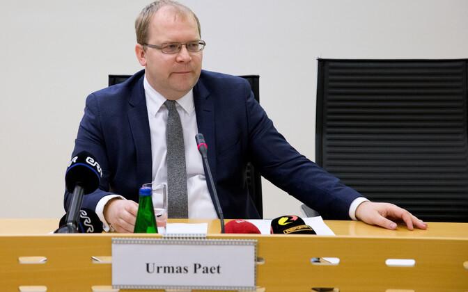 Välisminister Urmas Paet.